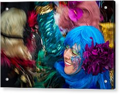 Colors Of Carnival Acrylic Print