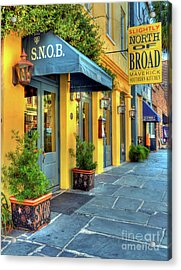 Colors Of Charleston 2 Acrylic Print by Mel Steinhauer