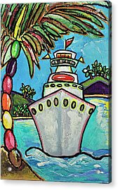 Colors Of Cruising Acrylic Print by Patti Schermerhorn
