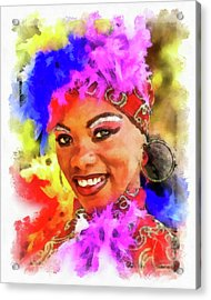 Colors Of Cuba Acrylic Print