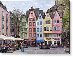 Colors Of Germany Acrylic Print
