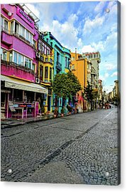Colors Of Istanbul Acrylic Print