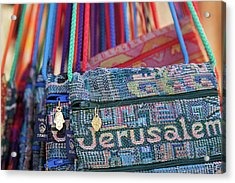 Colors Of Jerusalem Acrylic Print