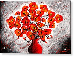 Colors Of Love Acrylic Print by Leon Zernitsky