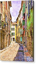 Colors Of Provence, France Acrylic Print