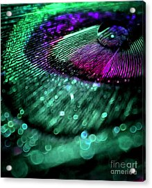 Colors Of Royalty Acrylic Print by Krissy Katsimbras
