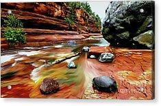 Colors Of Sedona Acrylic Print