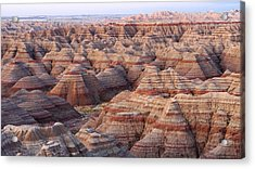 Colors Of The Badlands Acrylic Print