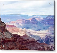 Colors Of The Canyon Acrylic Print