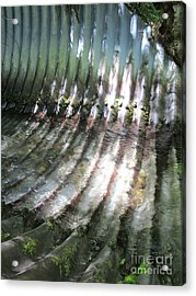 Acrylic Print featuring the photograph Colors Of The Culvert by Marie Neder