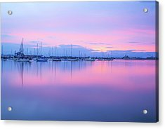Colors Of The Harbor Acrylic Print