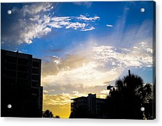 Colors Of The Sky Acrylic Print
