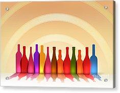 Colors Of Wine Acrylic Print by Bedros Awak