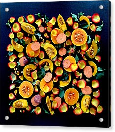 Colors Of Winter Squash Acrylic Print