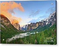 Colors Of Yosemite Acrylic Print