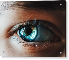 Acrylic Print featuring the photograph Colors by Parker Cunningham