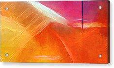 Colorstorm Panoramic Acrylic Print by Lutz Baar
