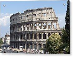 Colosseo I Acrylic Print by Fabrizio Ruggeri