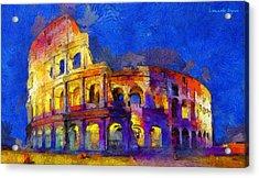 Colosseum 2 - Pa Acrylic Print
