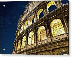 Acrylic Print featuring the photograph Colosseum by Brian Bonham