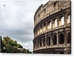 Colosseum Closeup Acrylic Print