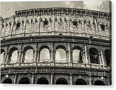 Colosseum Acrylic Print by Diane Diederich
