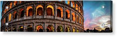Colosseum In Rome, Italy Acrylic Print