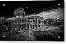 Acrylic Print featuring the photograph Colosseum by James Billings