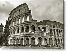 Colosseum  Rome Acrylic Print by Joana Kruse