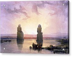 Colossi Of Memnon, Valley Of The Kings Acrylic Print by Science Source