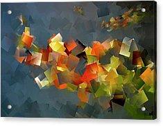 Colour Klatch Acrylic Print