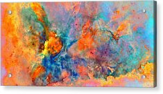 Colour Of Living Space Acrylic Print