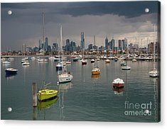 Colour Of Melbourne 2 Acrylic Print