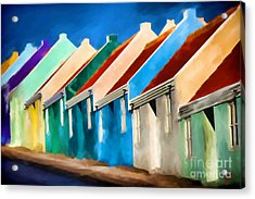 Acrylic Print featuring the photograph Coloured by Jim  Hatch