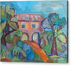 Colouresque 1 Acrylic Print by Marlene Robbins