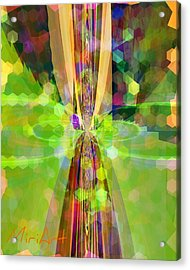 Acrylic Print featuring the photograph Colourful 1 by Miriam Shaw