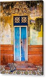 Colourful Door Acrylic Print