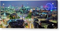Colourful London Acrylic Print