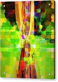 Acrylic Print featuring the photograph Colourful by Miriam Shaw