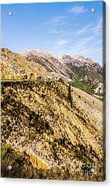 Colourful Stony Highlands Acrylic Print