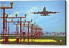 Colourful Take-off Acrylic Print