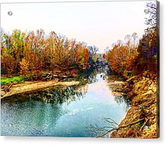 Colours Along Mill Creek Acrylic Print
