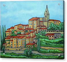 Colours Of Crillon-le-brave, Provence Acrylic Print