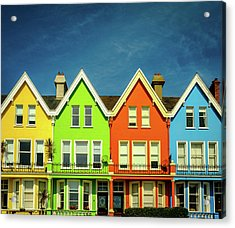 Colours Of Whitehead Acrylic Print