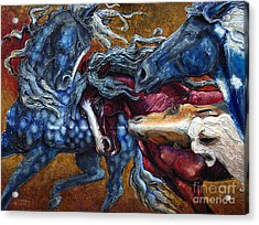 Colts Revolving Together Acrylic Print