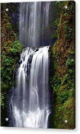 Columba River Gorge Falls 3 Acrylic Print by Marty Koch
