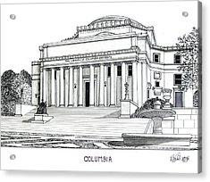 Columbia Acrylic Print