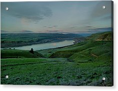 Acrylic Print featuring the photograph Columbia Gorge In Early Spring by Jeff Swan