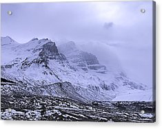 Acrylic Print featuring the photograph Columbia Ice Fields by John Gilbert