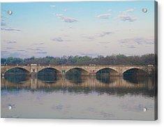 Acrylic Print featuring the photograph Columbia Railroad Bridge - Philadelphia by Bill Cannon